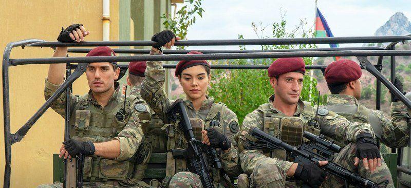 """кадр из сериала """"Воин"""""""