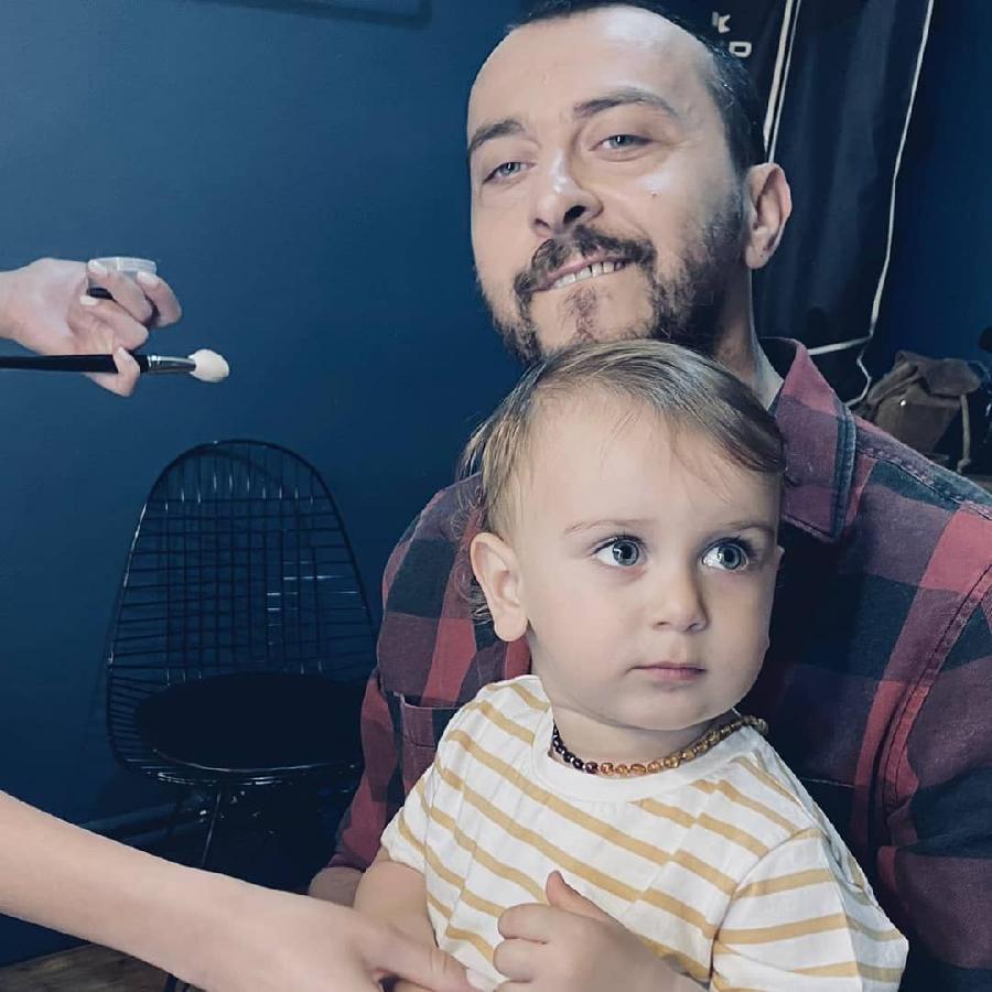 Али Атай с сыном Фико