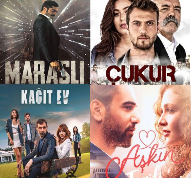Рейтинг турецких сериалов за понедельник