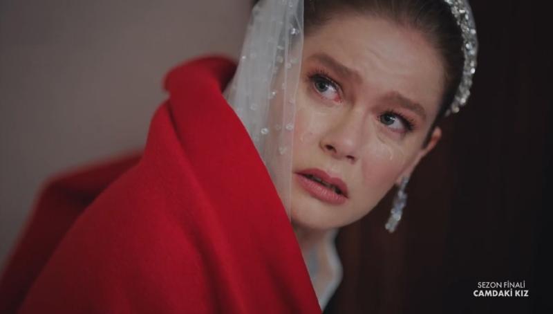"кадр из сериала ""Девушка за стеклом"""