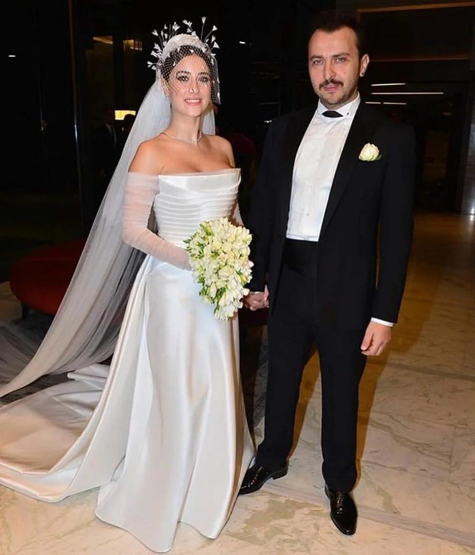 Хазал Кая и Али Атай свадебное фото
